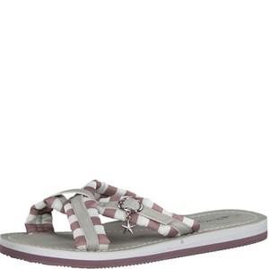 Tamaris-Schuhe-Pantolette-MAUVE-STRIPES-Art.:1-1-27254-30/691