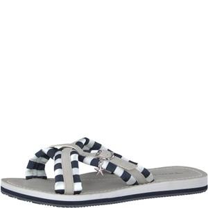 Tamaris-Schuhe-Pantolette-NAVY-STRIPES-Art.:1-1-27254-30/865