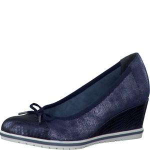 Tamaris-Schuhe-Pumps-NAVY-STRU.COMB-Art.:1-1-22461-28/830