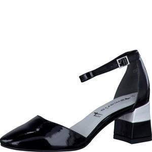 Tamaris-Schuhe-Pumps-BLACK/WHITE-Art.:1-1-24405-28/005