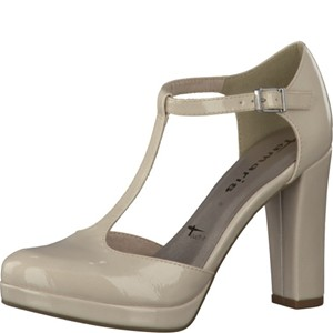 Tamaris-Schuhe-Pumps-CREAM-PATENT-Art.:1-1-24409-28/452