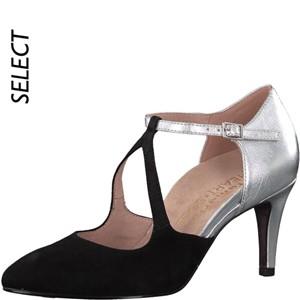 Tamaris-Schuhe-Pumps-BLK-/SILV-Art.:1-1-24402-20/099-HS