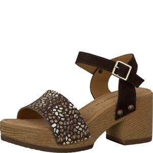 Tamaris-Schuhe-Sandalette-MOCCA-Art.:1-1-28036-28/304