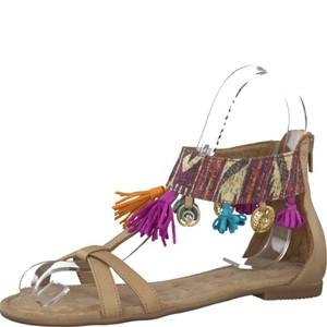 Tamaris-Schuhe-Sandalette-BEIGE-COMB-Art.:1-1-28100-28/371