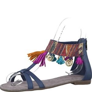 Tamaris-Schuhe-Sandalette-DENIM-COMB-Art.:1-1-28100-28/853