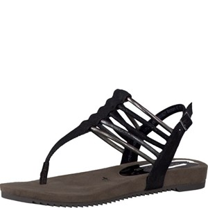 Tamaris-Schuhe-Sandalette-BLACK-COMB-Art.:1-1-28105-28/098