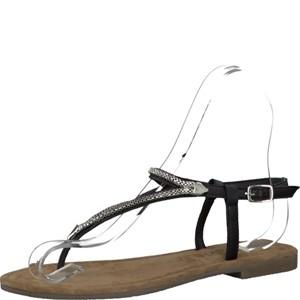 Tamaris-Schuhe-Sandalette-BLACK-Art.:1-1-28111-28/001
