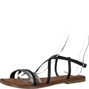 Tamaris-Schuhe-Sandalette-BLACK-Art.:1-1-28114-28/001