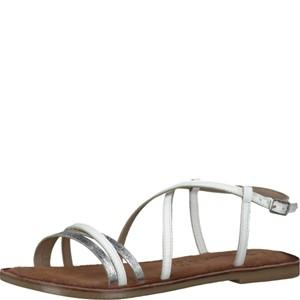 Tamaris-Schuhe-Sandalette-WHITE-Art.:1-1-28114-28/100