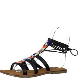 Tamaris-Schuhe-Sandalette-BLACK-COMB-Art.:1-1-28116-28/098