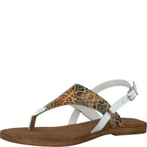 Tamaris-Schuhe-Sandalette-WHITE-COMB-Art.:1-1-28119-28/197