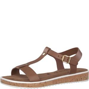 Tamaris-Schuhe-Sandalette-COGNAC-UNI-Art.:1-1-28120-28/302