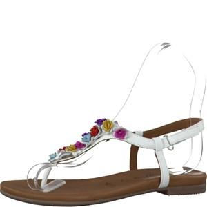 Tamaris-Schuhe-Sandalette-WHITE-COMB-Art.:1-1-28121-28/197