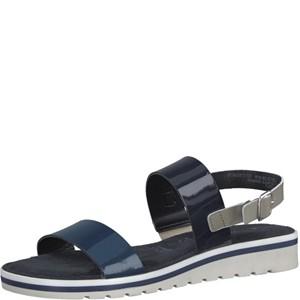 Tamaris-Schuhe-Sandalette-BLUE-COMB-Art.:1-1-28122-28/818