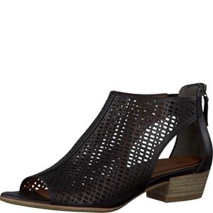 Tamaris-Schuhe-Sandalette-BLACK-Art.:1-1-28140-28/001