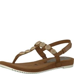 Tamaris-Schuhe-Sandalette-COGNAC-Art.:1-1-28168-28/305