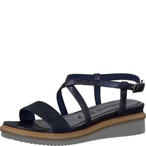 Tamaris-Schuhe-Sandalette-NAVY/METALLIC-Art.:1-1-28206-28/864