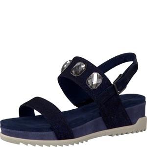 Tamaris-Schuhe-Sandalette-NIGHT-BL.-GLAM-Art.:1-1-28210-28/809