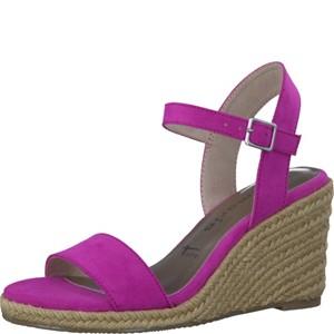 Tamaris-Schuhe-Sandalette-FUXIA-Art.:1-1-28300-28/513