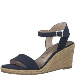 Tamaris-Schuhe-Sandalette-NAVY-Art.:1-1-28300-28/805