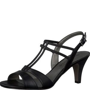 Tamaris-Schuhe-Sandalette-BLACK-Art.:1-1-28304-28/001