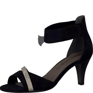 Tamaris-Schuhe-Sandalette-BLACK/GLAM-Art.:1-1-28305-28/034