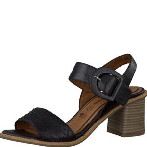 Tamaris-Schuhe-Sandalette-BLACK-Art.:1-1-28314-28/001