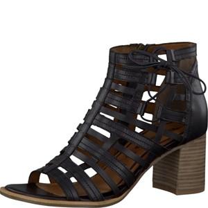 Tamaris-Schuhe-Sandalette-BLACK-Art.:1-1-28317-28/001