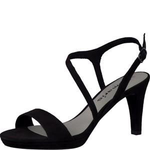 Tamaris-Schuhe-Sandalette-BLACK-Art.:1-1-28318-28/001