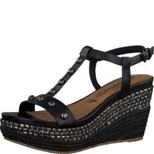 Tamaris-Schuhe-Sandalette-BLACK-Art.:1-1-28322-28/001