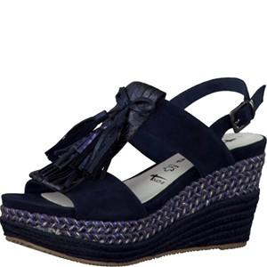 Tamaris-Schuhe-Sandalette-NAVY-COMB-Art.:1-1-28323-28/890
