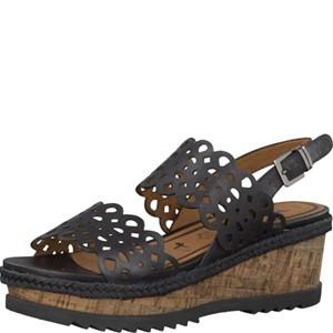 Tamaris-Schuhe-Sandalette-BLACK-Art.:1-1-28327-28/001