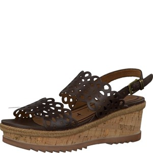 Tamaris-Schuhe-Sandalette-MOCCA-Art.:1-1-28327-28/304