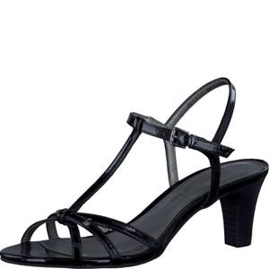 Tamaris-Schuhe-Sandalette-BLACK-PATENT-Art.:1-1-28329-28/018