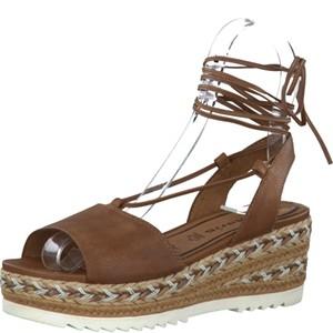 Tamaris-Schuhe-Sandalette-COGNAC-Art.:1-1-28330-28/305