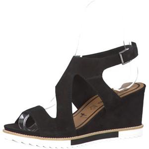 Tamaris-Schuhe-Sandalette-BLACK-Art.:1-1-28331-28/001