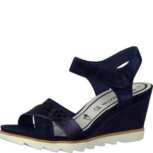 Tamaris-Schuhe-Sandalette-NAVY-Art.:1-1-28333-28/805