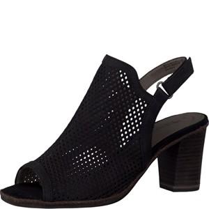 Tamaris-Schuhe-Sandalette-BLACK-Art.:1-1-28335-28/001