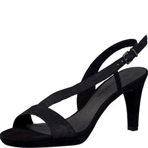 Tamaris-Schuhe-Sandalette-BLACK-GLAM-Art.:1-1-28336-28/047