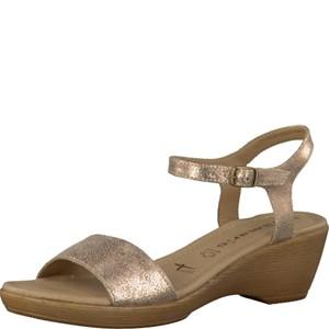 Tamaris-Schuhe-Sandalette-ROSE-METALLIC-Art.:1-1-28339-28/952