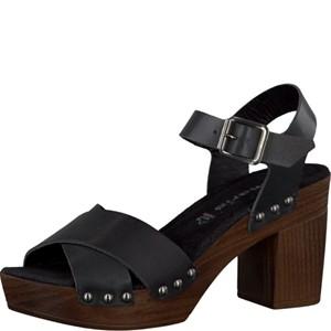 Tamaris-Schuhe-Sandalette-BLACK-Art.:1-1-28340-28/001