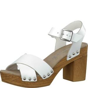 Tamaris-Schuhe-Sandalette-WHITE-Art.:1-1-28340-28/100