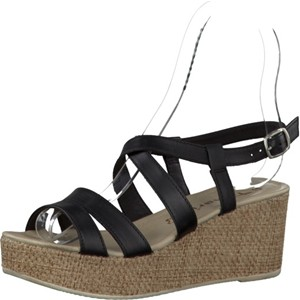 Tamaris-Schuhe-Sandalette-BLACK--Art.:1-1-28341-28/003