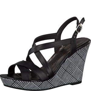 Tamaris-Schuhe-Sandalette-BLACK--Art.:1-1-28343-28/003
