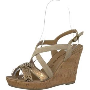 Tamaris-Schuhe-Sandalette-NATURE/GOLD-Art.:1-1-28343-28/390