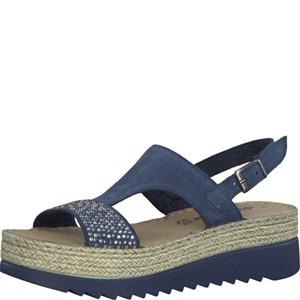 Tamaris-Schuhe-Sandalette-NAVY-Art.:1-1-28344-28/805