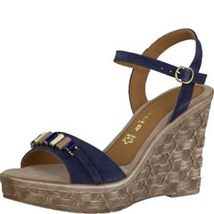 Tamaris-Schuhe-Sandalette-NAVY-Art.:1-1-28348-28/805