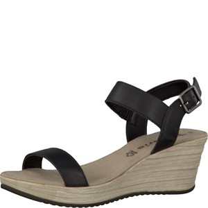 Tamaris-Schuhe-Sandalette-BLACK--Art.:1-1-28354-28/003