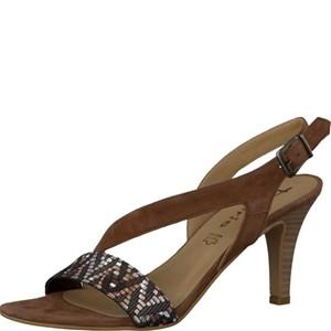 Tamaris-Schuhe-Sandalette-MOCCA-SUED-COM-Art.:1-1-28359-28/307