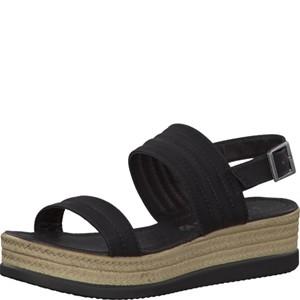 Tamaris-Schuhe-Sandalette-BLACK-Art.:1-1-28361-28/001